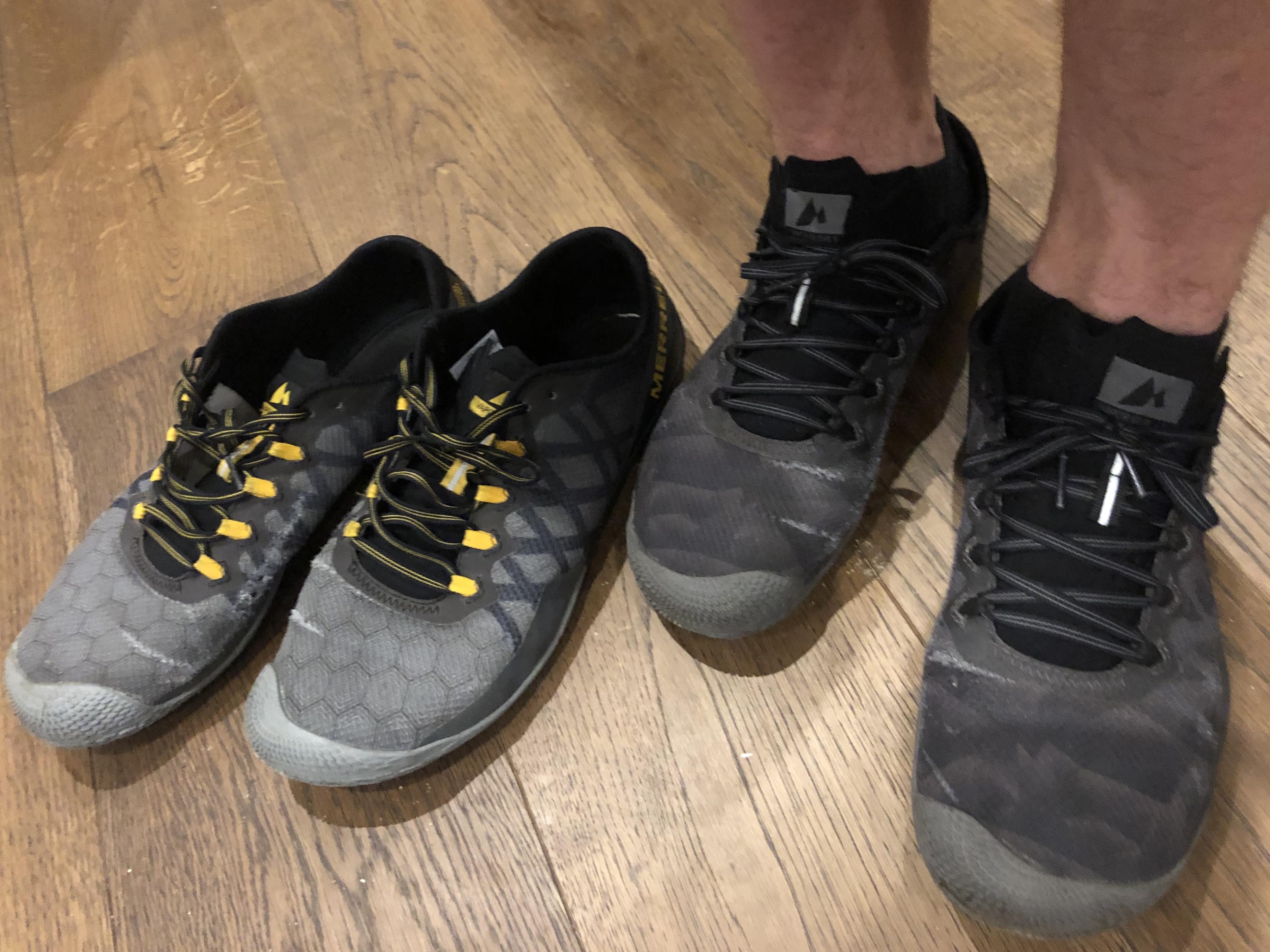 Details about Merrell Vapor Glove 3 Men's Barefoot Shoes J09679 Green Barefoot Shoes Fitness