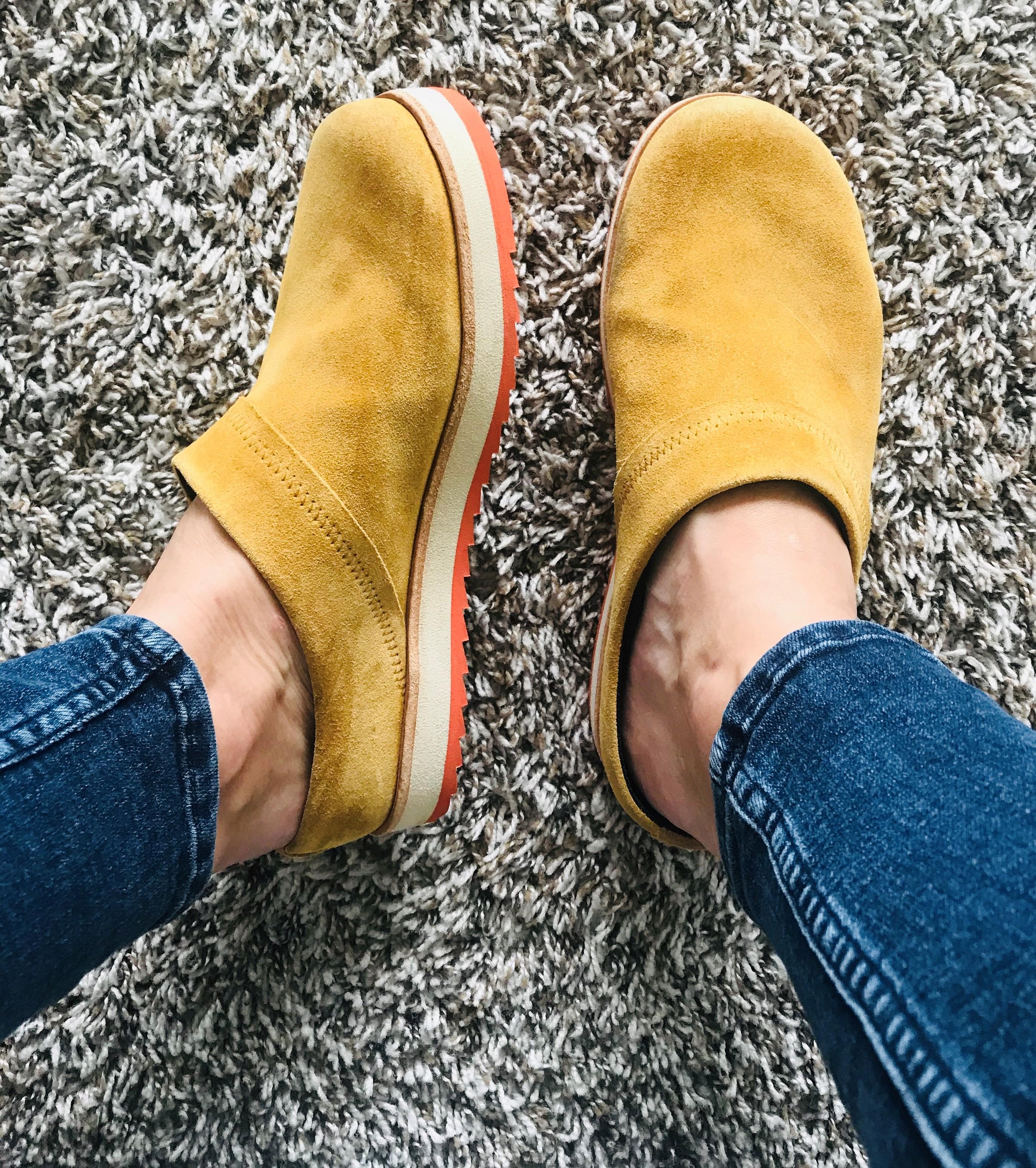 Juno Clog Suede Casual Shoes | Merrell